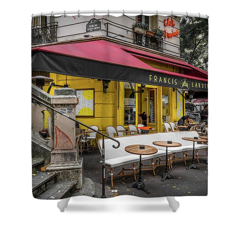 Coffee Time - Shower Curtain