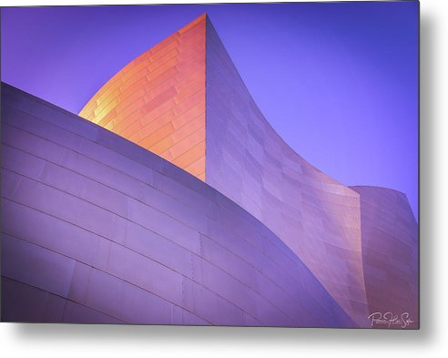 Color Curves - Metal Print