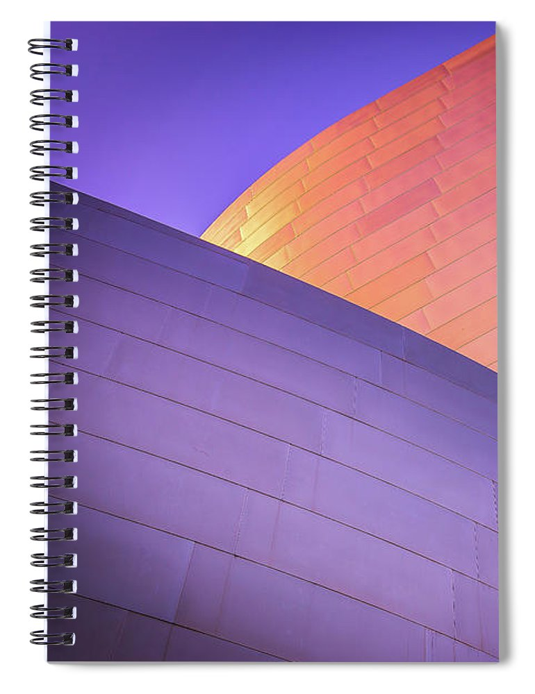 Color Curves - Spiral Notebook