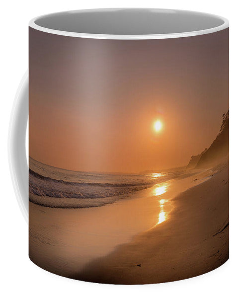 Golden Santa Barbara  - Mug
