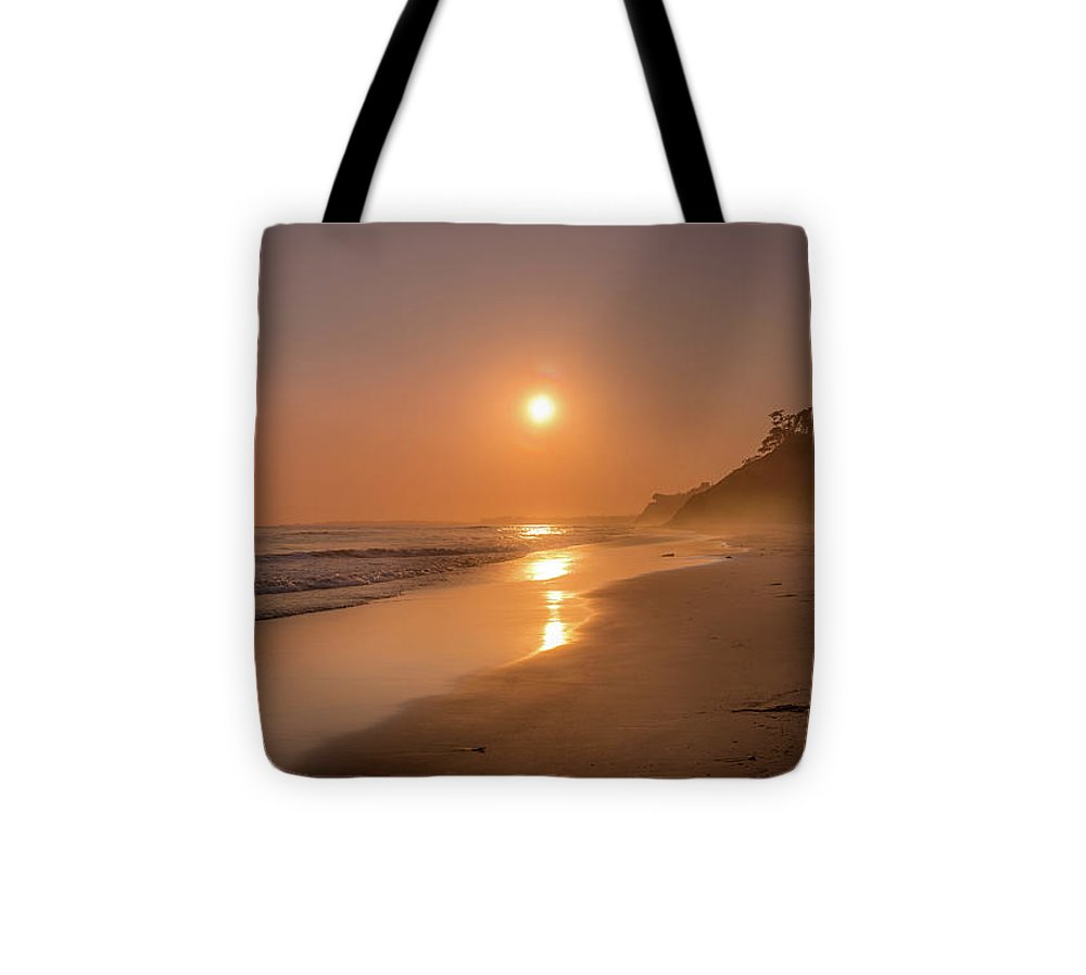 Golden Santa Barbara  - Tote Bag