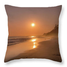 Load image into Gallery viewer, Golden Santa Barbara  - Throw Pillow