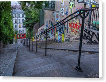 Load image into Gallery viewer, Graffiti Stairways - Canvas Print