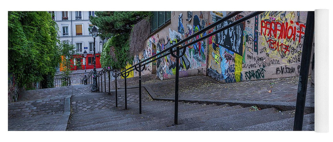 Graffiti Stairways - Yoga Mat
