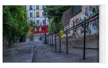 Load image into Gallery viewer, Graffiti Stairways - Yoga Mat