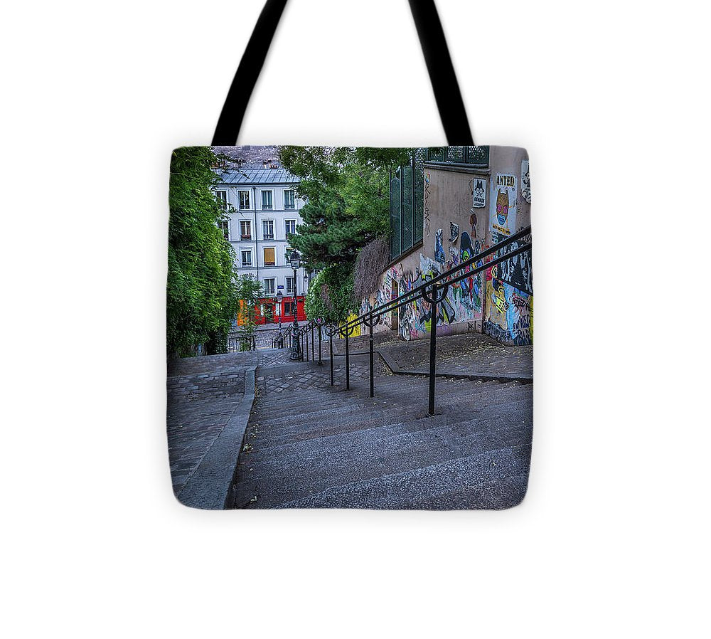 Graffiti Stairways - Tote Bag