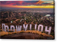 Load image into Gallery viewer, Hollywood - Canvas Print