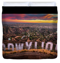 Load image into Gallery viewer, Hollywood - Duvet Cover