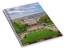 Load image into Gallery viewer, Horizon of Paris - Spiral Notebook