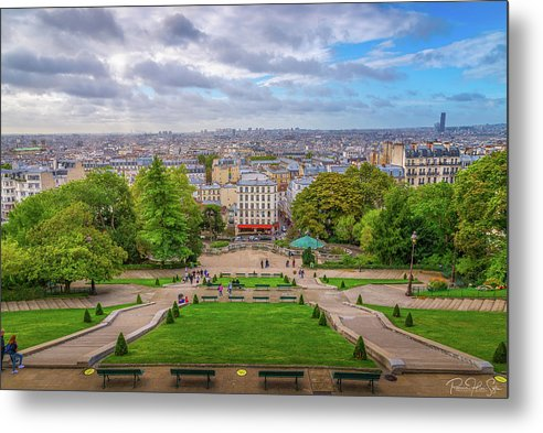Horizon of Paris - Metal Print