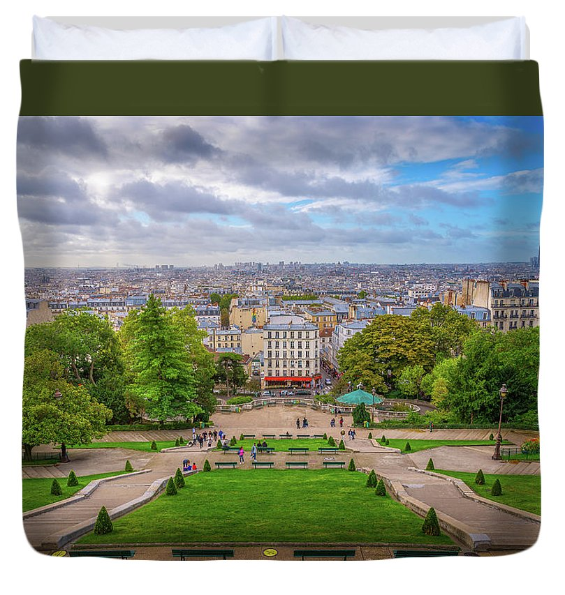 Horizon of Paris - Duvet Cover