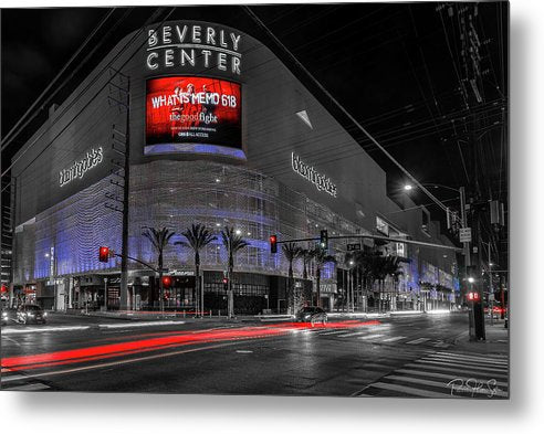 LA Night Out (BH Center) - Metal Print