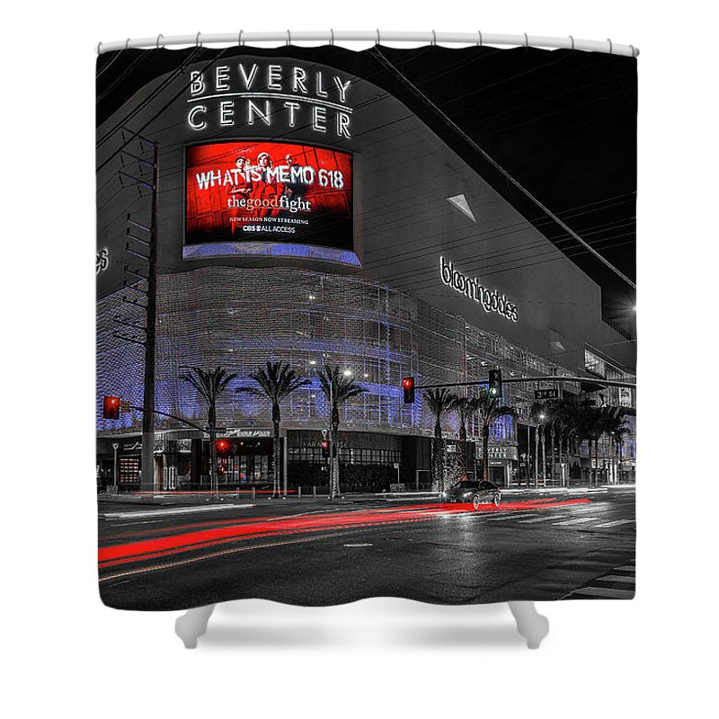 LA Night Out - Shower Curtain