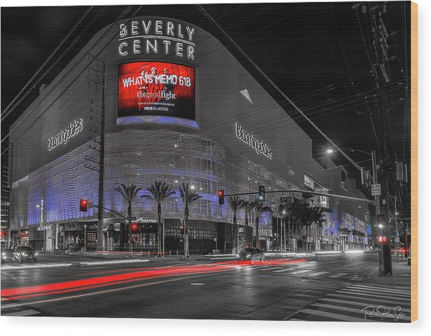 LA Night Out (BH Center) - Wood Print