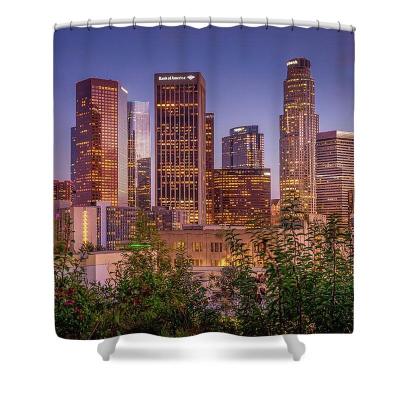 LA Skyline - Shower Curtain