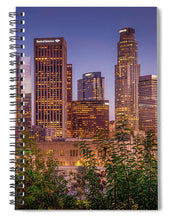 Load image into Gallery viewer, LA Skyline - Spiral Notebook