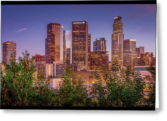 LA Skyline - Greeting Card