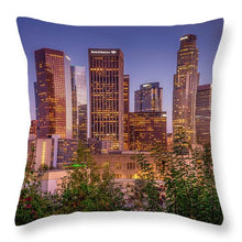 Load image into Gallery viewer, LA Skyline - Throw Pillow
