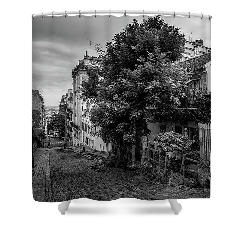 Lapin Agile - Shower Curtain