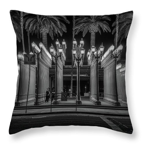 Lights Up - Throw Pillow