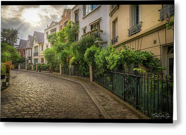 Montmartre - Greeting Card
