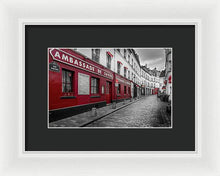 Load image into Gallery viewer, Montmartre Street - Framed Print