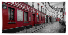 Load image into Gallery viewer, Montmartre Street - Beach Towel