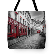 Load image into Gallery viewer, Montmartre Street - Tote Bag