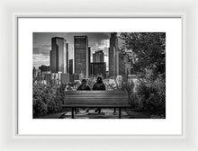 Load image into Gallery viewer, Pic in Pic - Framed Print