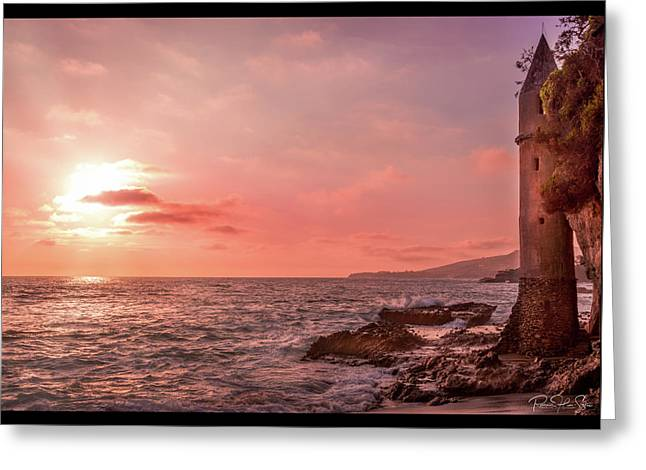 Pirates Tower - Greeting Card