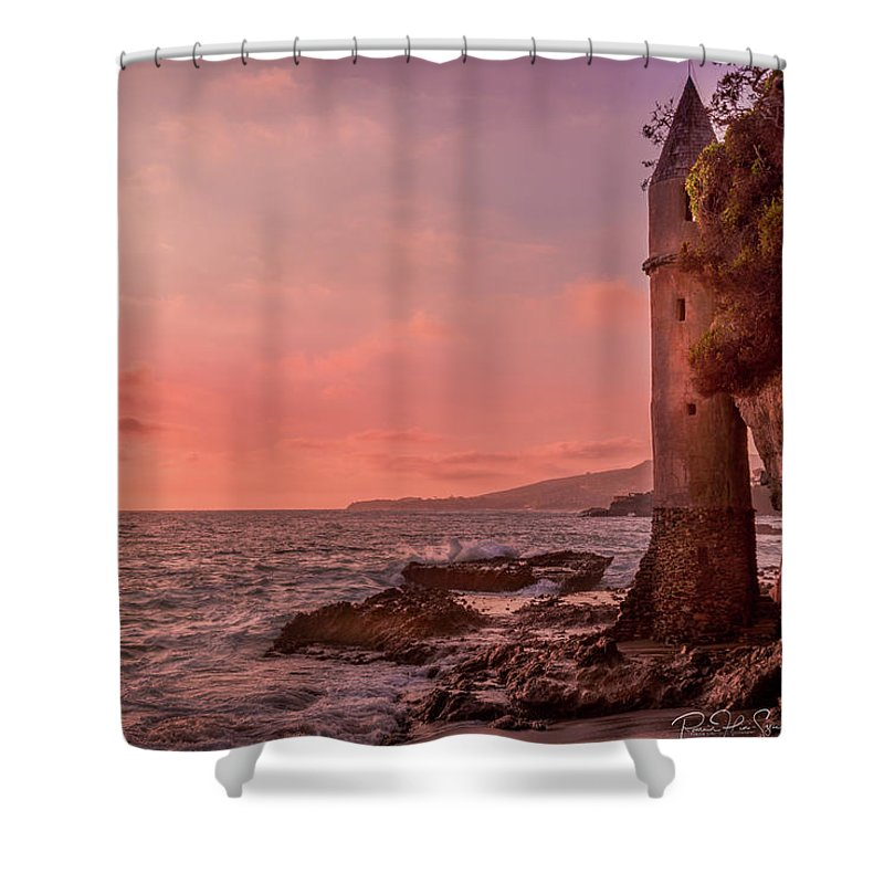 Pirates Tower - Shower Curtain