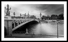 Load image into Gallery viewer, Pont Alexandre III - Framed Print