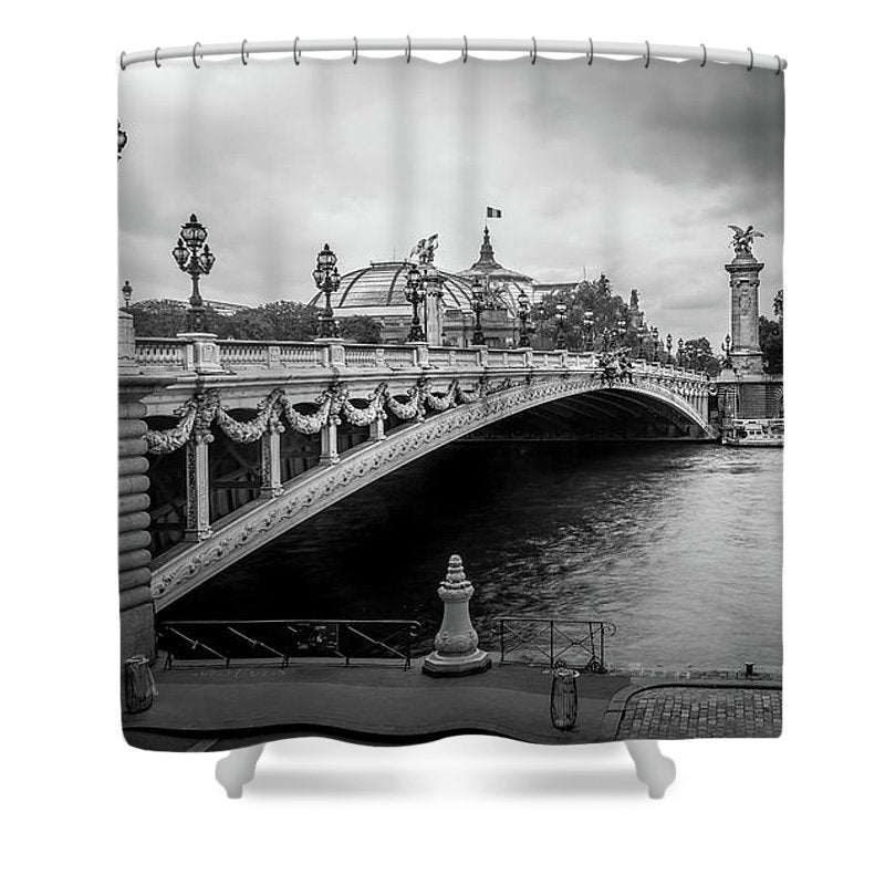 Pont Alexandre III - Shower Curtain