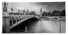 Load image into Gallery viewer, Pont Alexandre III - Beach Towel