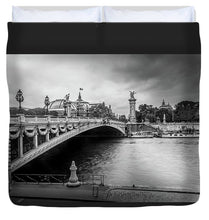 Load image into Gallery viewer, Pont Alexandre III - Duvet Cover