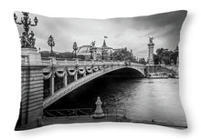 Load image into Gallery viewer, Pont Alexandre III - Throw Pillow