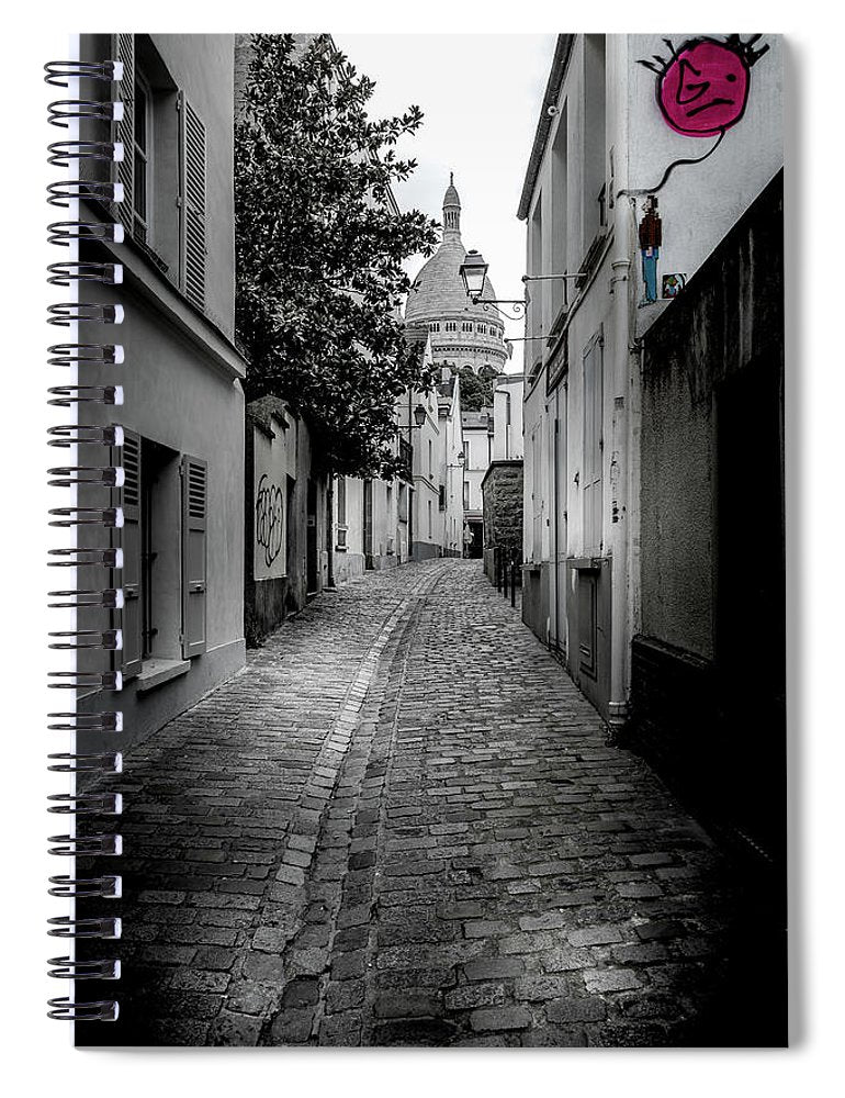Red Balloon - Spiral Notebook