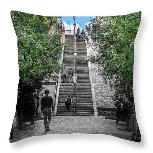 Stairways to Heaven  - Throw Pillow