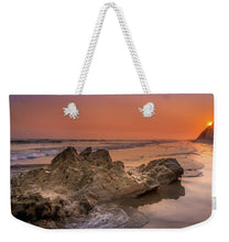 Load image into Gallery viewer, Sunset on the Rock - Weekender Tote Bag