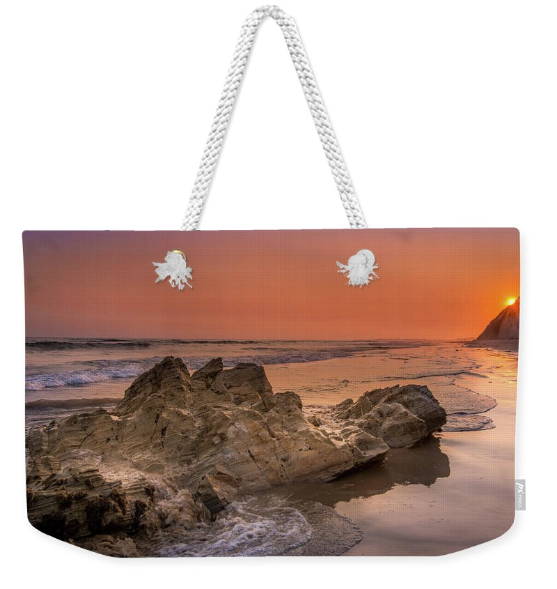 Sunset on the Rock - Weekender Tote Bag