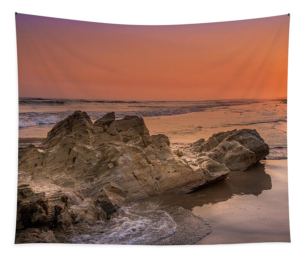 Sunset on the Rock - Tapestry