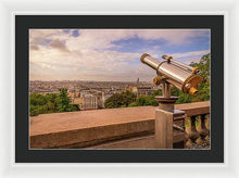 Load image into Gallery viewer, Sunset Telescope - Framed Print