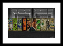 Load image into Gallery viewer, The Wall - Framed Print