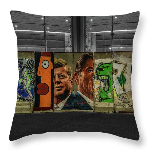 The Wall - Throw Pillow