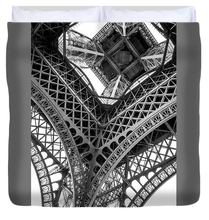 Under the Eiffel Tower - Duvet Cover