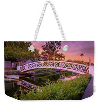 Load image into Gallery viewer, Venice Bridge - Weekender Tote Bag