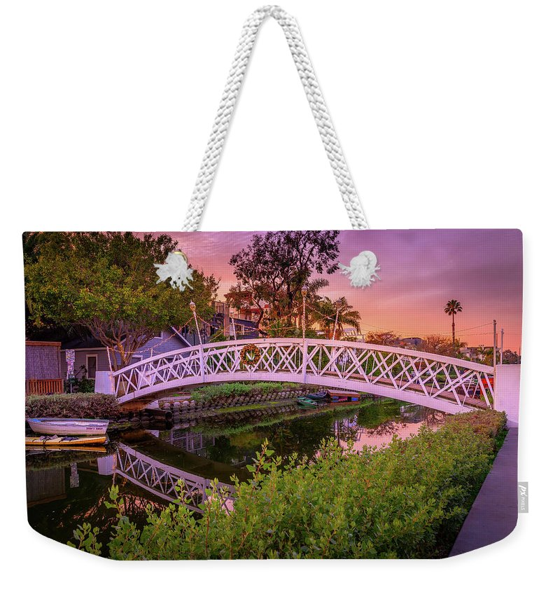 Venice Bridge - Weekender Tote Bag