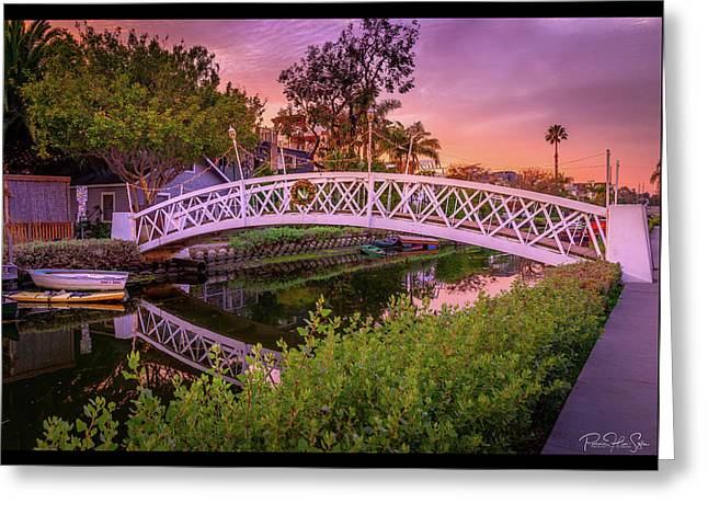 Venice Bridge - Greeting Card