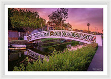 Load image into Gallery viewer, Venice Bridge - Framed Print