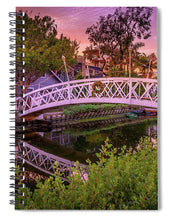 Load image into Gallery viewer, Venice Bridge - Spiral Notebook